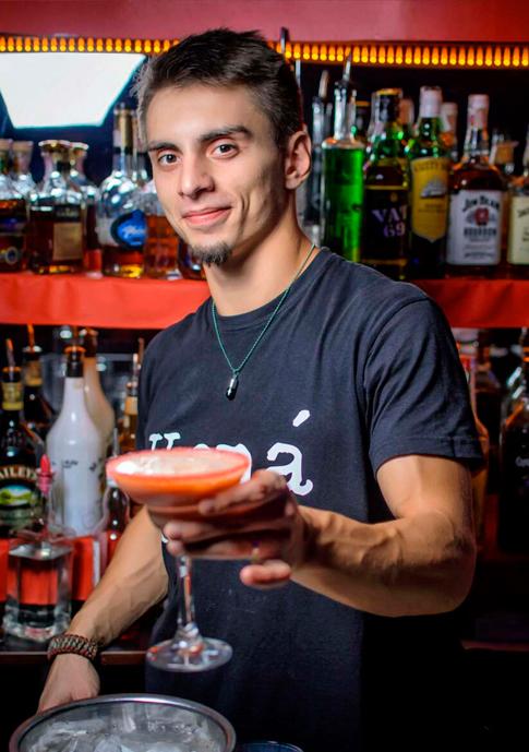 Форма барменов в ночном клубе ночной клуб в великих луках амстердам